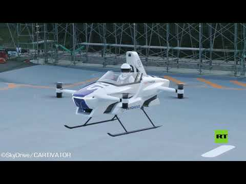 شاهد تحليق أول سيارة طائرة في العالم بنجاح