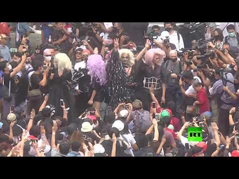 شاهد المحتجون في تايلاند يدعون إلى التصعيد بعد تجاهل الحكومة تحذيراتهم