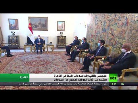 شاهدالرئيس السيسي يلتقي وفدًا سودانيًا برئاسة شمس الدين كباشي