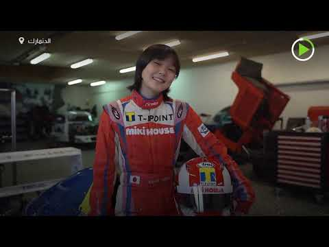 شاهد ابنة متسابق سيارات تفوز في سباق إف 4 الدنماركي