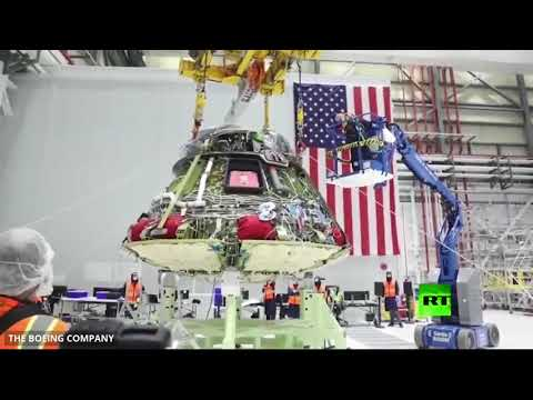 المراحل الكاملة لتصميم مركبة بوينغ ستارلاينر الفضائية