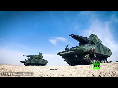 الدفاع التركية تنشر فيديو من مناورات وشق الأناضول العسكرية