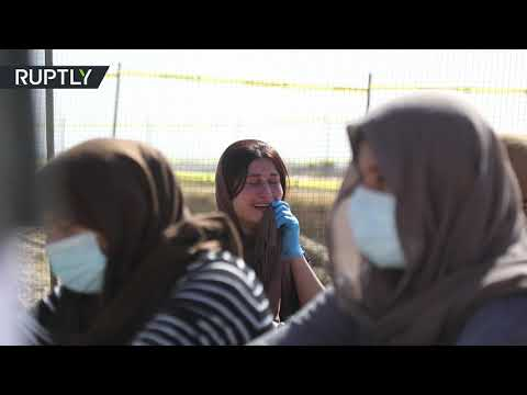 شاهد إيزيديات يشاركن في افتتاح مقبرة الأمهات ويرثين قتيلات على يد داعش