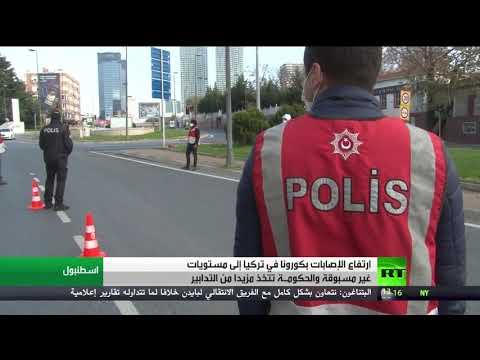 شاهد ارتفاع عدد ضحايا كورونا في تركيا إلى مستويات غير مسبوقة
