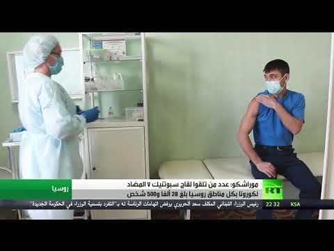 شاهد انطلاق التطعيم ضد كورونا في جميع أنحاء روسيا