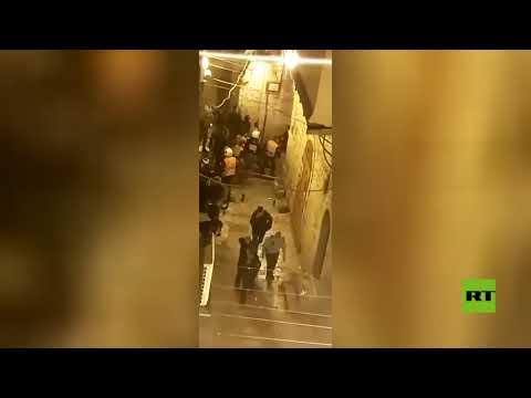 شاهد إصابة جندي إسرائيلي في القدس والشرطة تعلن عن تحييد المنفذ