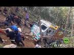 شاهدمئات القرويون في بلدة كوتسابو شمال الهند يسحبون شاحنة بالحبال والأيدي